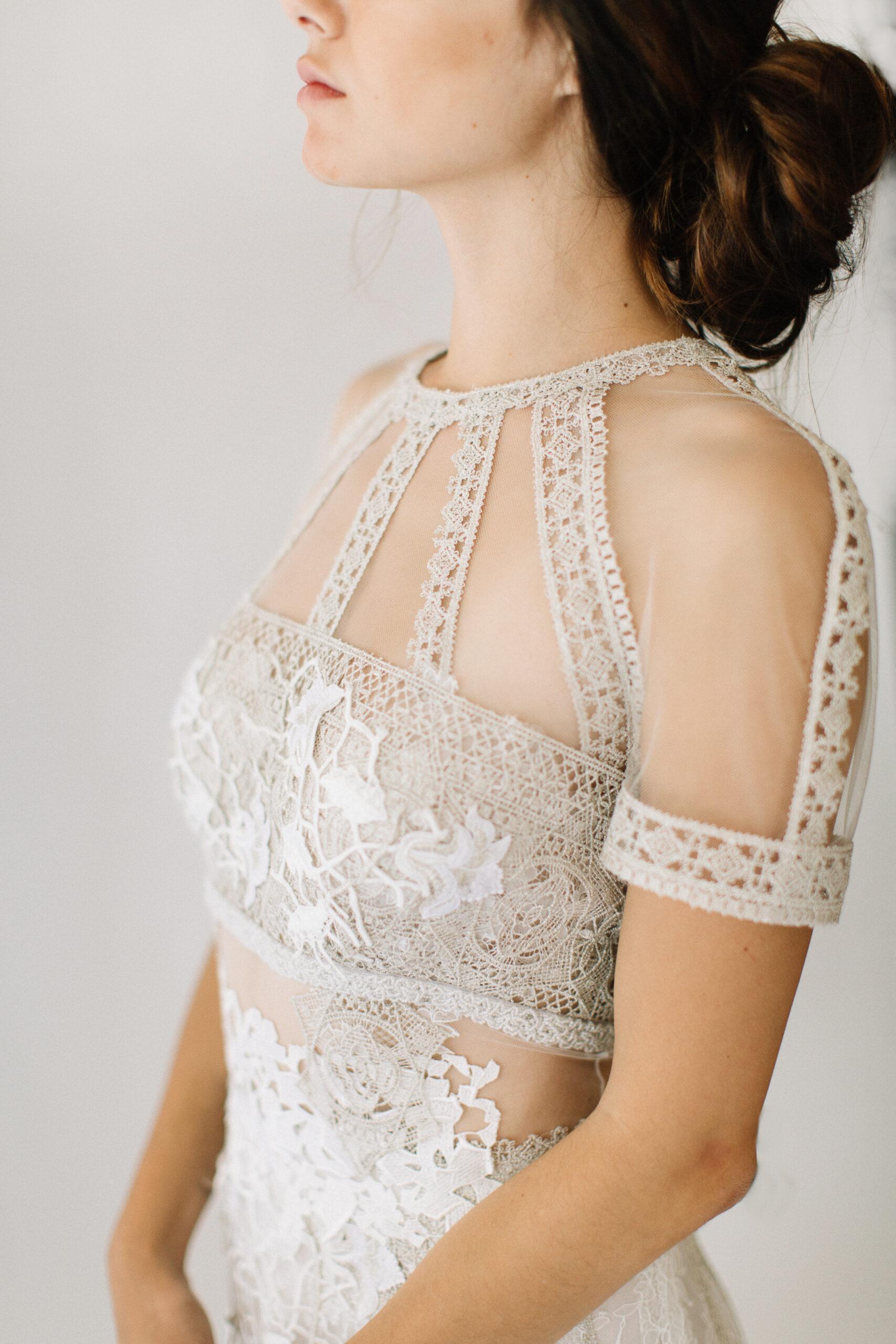 The Best Wedding Dresses for Brides With Broad Shoulders - Bloved